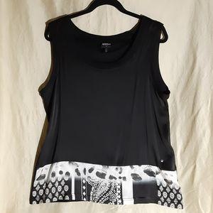 Sportalm silk & polyamide sleeveless top size 12